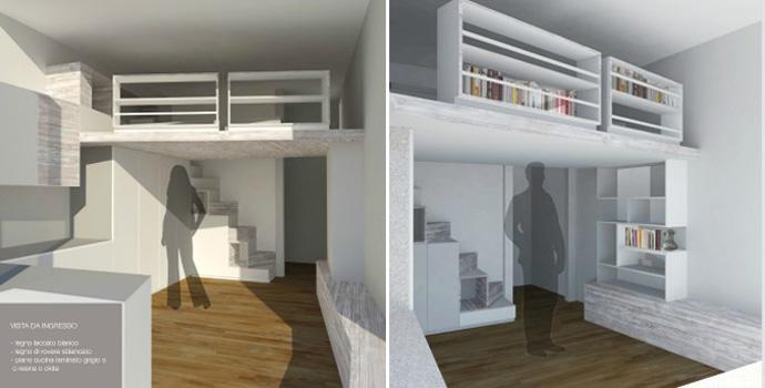 progettazione interni - Okapì - Mobili su misura