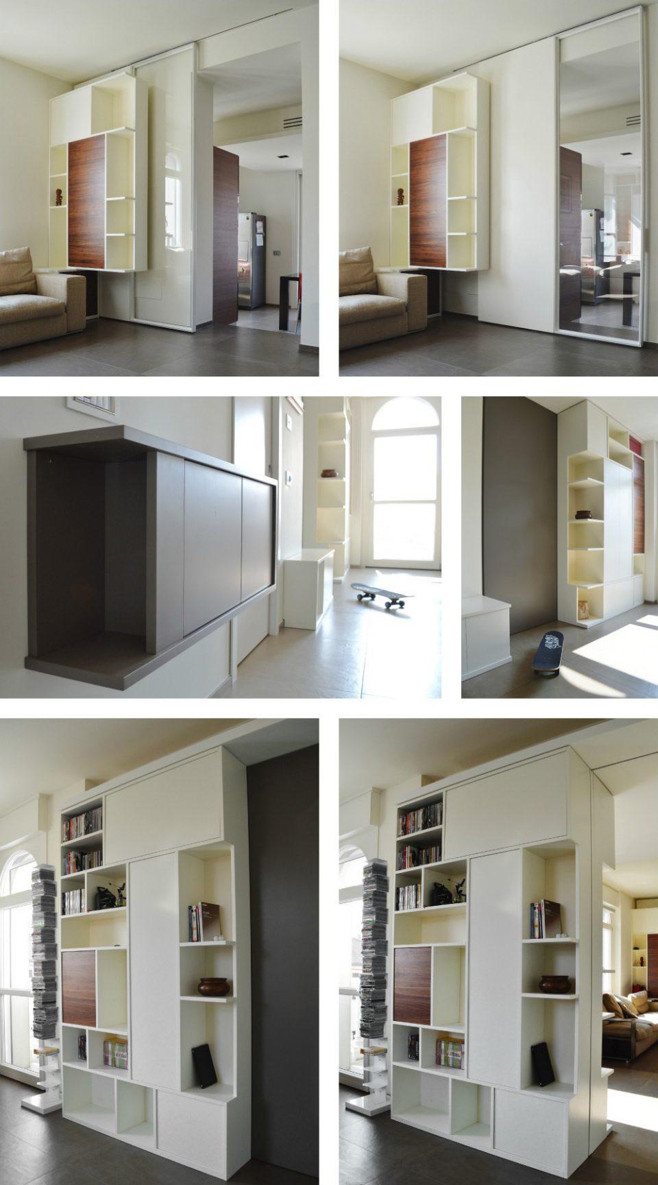 Pareti Attrezzate Moderne Con Camino pareti attrezzate moderne - okapì - mobili su misura